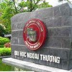 Học phí trường Đại học Ngoại thương