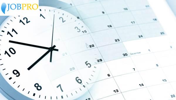 Quy định về giờ làm việc hành chính