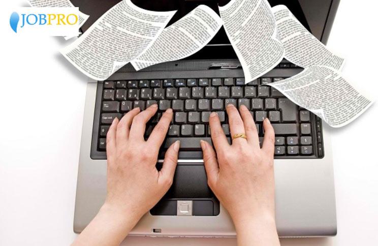 Đánh máy văn bản thuê