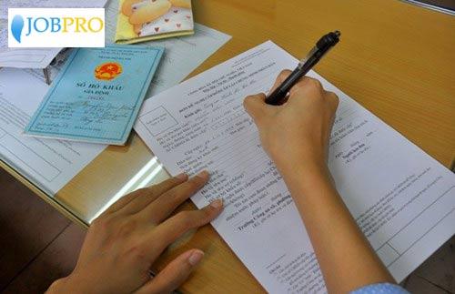 Hướng dẫn điền vào mẫu đơn đề nghị cấp chứng minh nhân dân