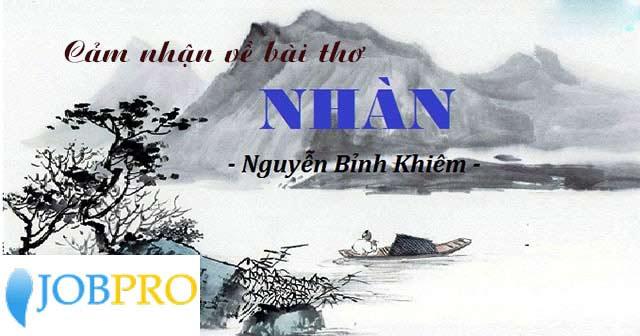 Nhàn của Nguyễn Bỉnh Khiêm