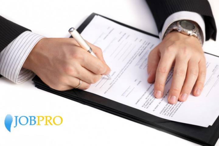 Những điều lưu ý khi viết đơn xin việc viết tay