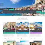 Website du lịch đẹp, chuyên nghiệp