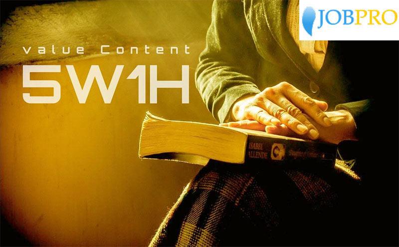5W1H trong lĩnh vực SEO content