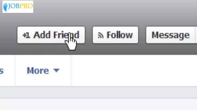 Add trong Facebook