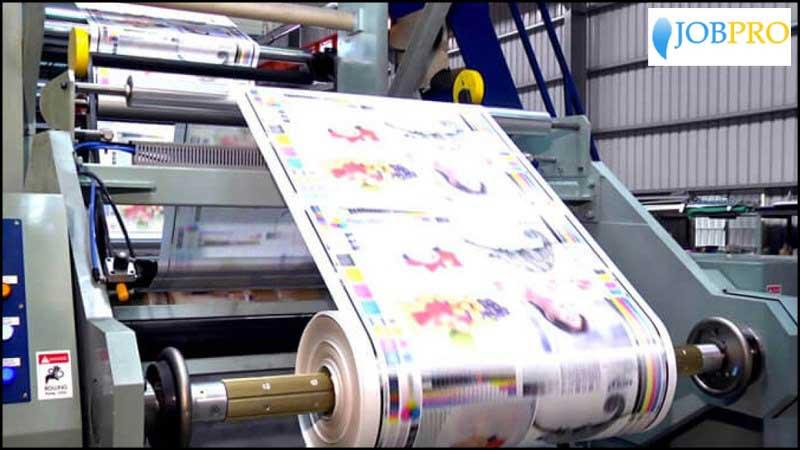 PCS trong in ấn
