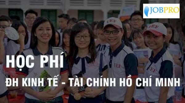 Thời gian đóng học phí của trường Đại Học Kinh Tế Tài Chính