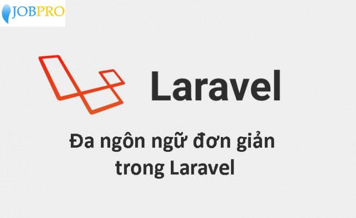 Cài đặt ngôn ngữ Laravel